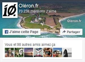 Oléron.fr est sur Facebook